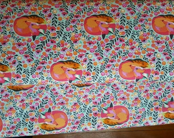 Tula Pink Chipper - Fox Nap Sorbet