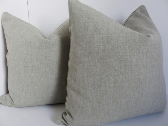 Light Grey Throw Pillow : Light grey pillow cover Grey pillow Solid gray pillow