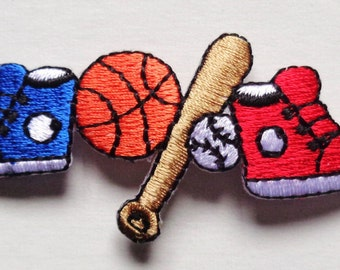 sports strip heat seal embroidery