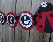 Ladybug Banner/ Ladybug Birthday Banner