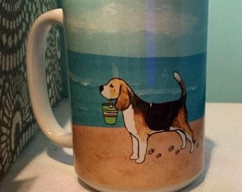 Beagle 15oz Coffee Mug