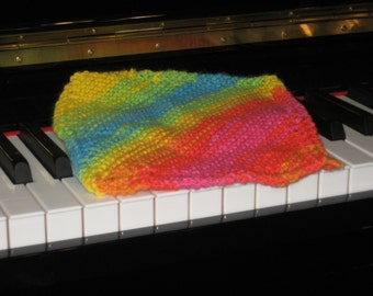 Wash cloth, dish rag - hand-knitted - packs of 3 to choose from