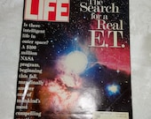 Vintage Life Magazine ET Search for a Real E.T. September 1992