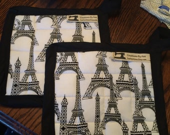 Paris Is Always A Good Idea, Eiffel Tower Pot Holder