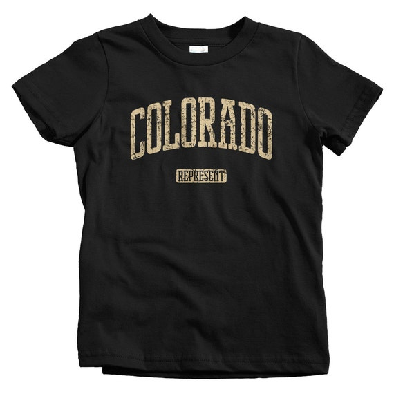 Kids Colorado Represent T Shirt Baby Toddler And Youth