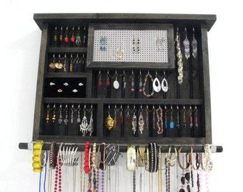 Ebony Jewelry Holder