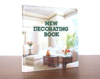 1985 Better Homes and Gardens New Decorating Book Home Decor Design Interior