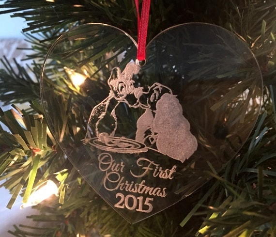ORIGINAL CREATOR Disney Christmas Ornament Disney Wedding