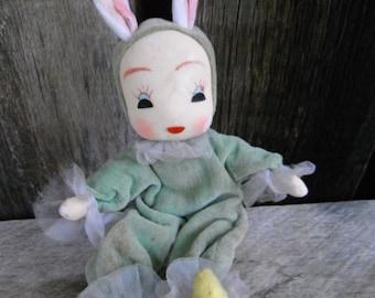 Vintage Pixie Rabbit - Mod Japan Doll