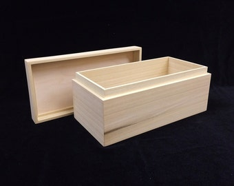 Unfinished Wooden Soap Mold-Cold Process Soap-2-3 lb Soap Mold-Soap Making Supplies