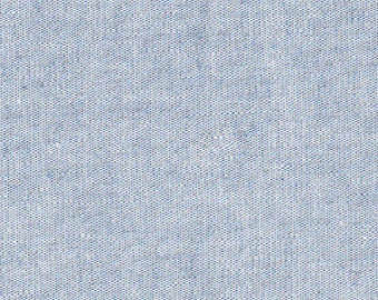 Fabric Finders Blue Chambray- Half Yard cut