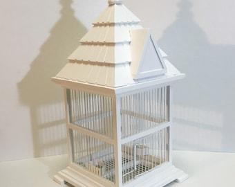 Elegant Neo Classic Bird Cage