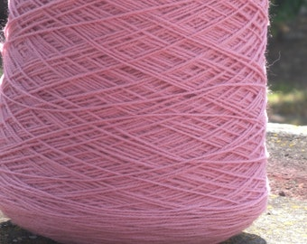 Mary Lues SOLO Spun LARGE Yarn CONE ~ Dusty Rose / 1LB
