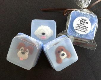 Dog Soap Favors