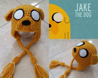 Crochet Jake The Dog Beanie/Dog