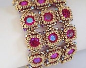 Crystal Cobblestones Bracelet Tutorial