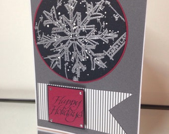 Masculine Holiday card