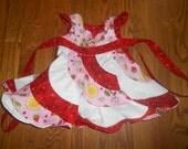 Strawberry Shortcake and Stargazer Peppermint Swirl Dress