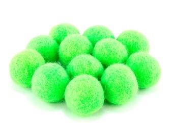 Green Felt Ball Slingshot Ammo