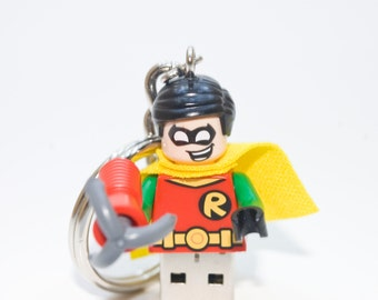 128GB Robin USB Flash Drive with Key Chain