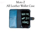 Moto Z Leather Wallet Cas...