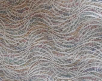 Rainbow Colored Net Fabric