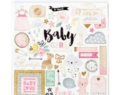 Crate Paper Little You 12x12 Chipboard Girl -- MSRP 6.50