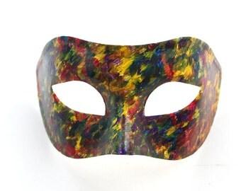 Men's Carnival Mardi Gras Colourful Masquerade Party Mask