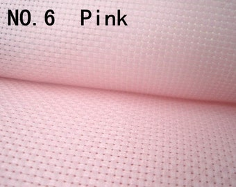 11ct aida cotton fabric,11ct cross stitch fabric,3 colors for choice