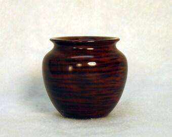 Tasmanian Tiger Myrtle Turned Wood Miniature Vase