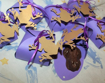 Harry Potter Inspired Chocolate Frog Mold Kit - Candy Mold and Party Favor Gift Box Supplies