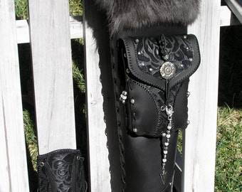 """Build-A-Quiver Back Quiver and matching Arm Guard- """"Artemis"""" Made to Order- by MYSTIC QUIVERS"""