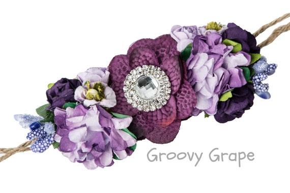 DIY Petite Floral Crown Kit Make Your Own Flower Crown DIY