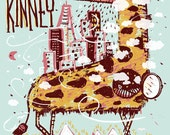 Sleater Kinney Terminal 5 Silk Screened Poster