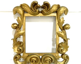 Vintage Gold Frame Ornate