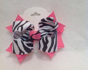 Baby Hair Bow/Large Hair Bow/Girls Hair Bow/Basic Hair Bow/Boutique Hair Bow