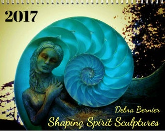 CALENDAR 2017, By Debra Bernier ShapingSpirit