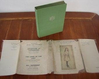 Alice's adventures in Wonderland, Arthur Rackham 13 color plates, Heinemann 1947 un-clipped dustjacket