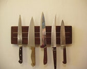 Super Pull Knife Rack in Walnut. US Shipping included.