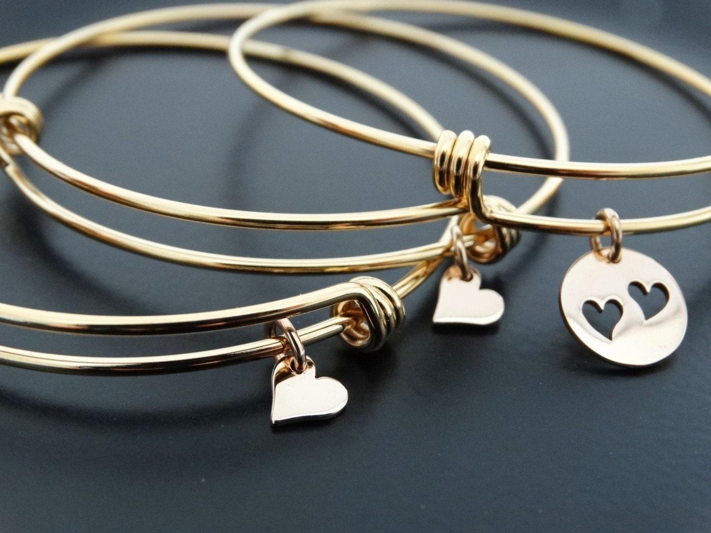 gold bangle bracelet mothers day from daughter mother. Black Bedroom Furniture Sets. Home Design Ideas