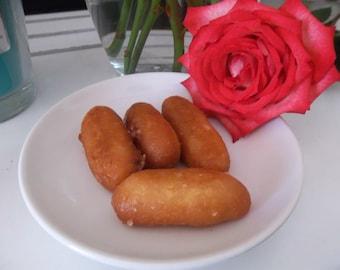 Organic Gulab Jamun Persian Donuts in Rose Petal Syrup