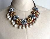 Pretty Flower necklace choker