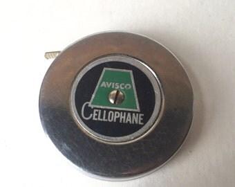 Avisco Cellophane Round Tape Measure