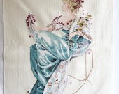 "Finished / Completed Cross Stitch Mirabilia's ""Summer Queen"" by Permin crossstitch counted cross stitch"