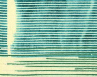 Nani Iro Japanese fabric in double gauze - Saaaa Saaa Rondo - 1/2 YD