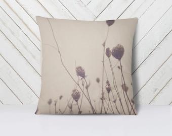 Floral Art Throw Pillow Cover | Home Decor | Art