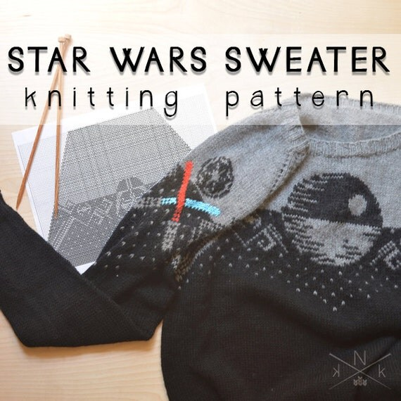 Star Wars Sweater Knitting Pattern