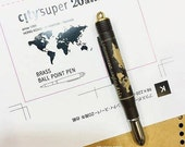 Traveler's Company and City'Super 20th Anniversary Brass Ball Point Pen
