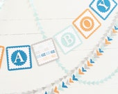 Tribal Baby Shower Banner - Arrow, Tribal Nursery, Tribal Baby Shower Decor, Custom