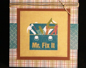 Mr. Fix It Father's Day Card